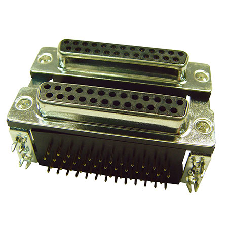 Dual Port D Sub Connector - DS007-XXXX