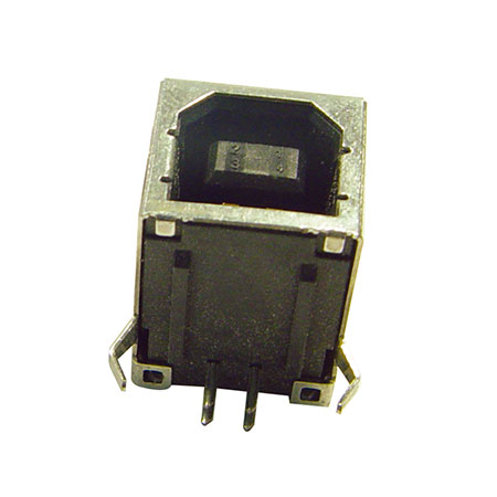 Conector USB Tipo B - U560B-04S10-XXX - RIGHT ANGLE / FEMALE / B TYPE